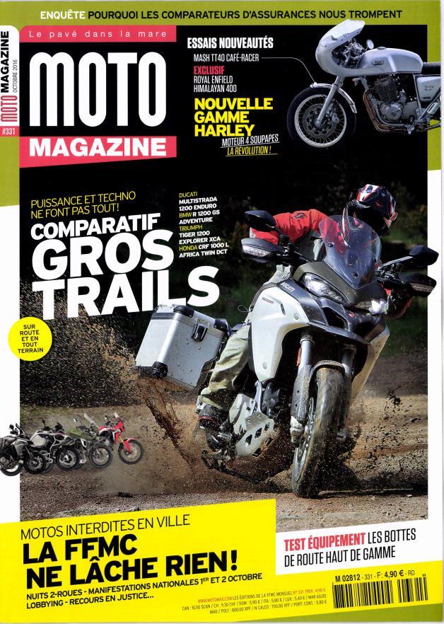moto magazine n 331 abonnement moto magazine abonnement magazine par. Black Bedroom Furniture Sets. Home Design Ideas