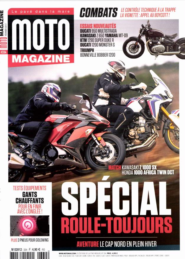 moto magazine n 334 abonnement moto magazine abonnement magazine par. Black Bedroom Furniture Sets. Home Design Ideas