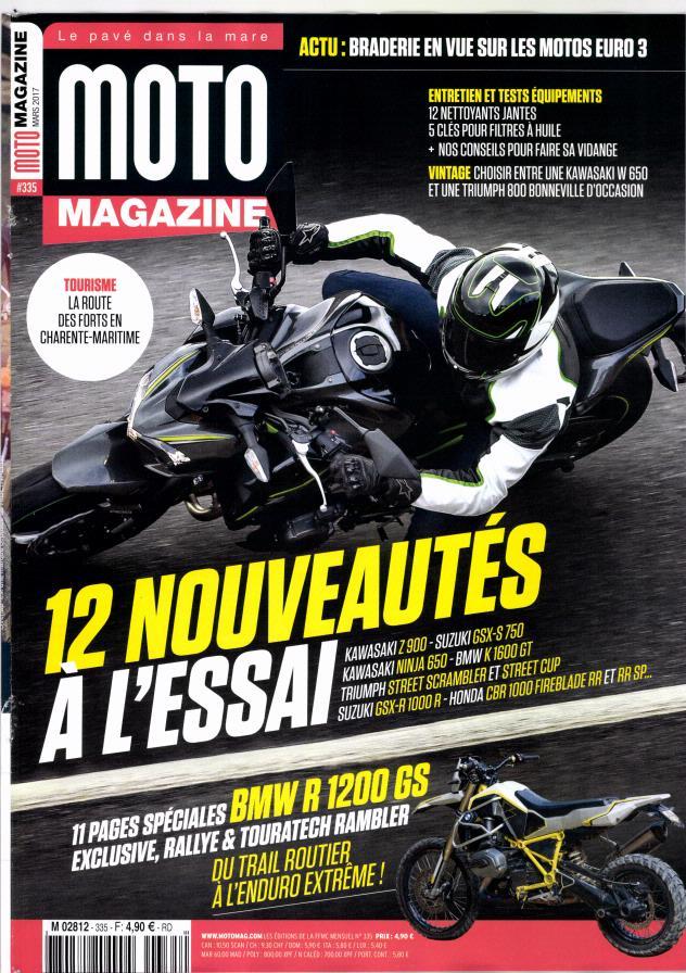 Moto Magazine N° 335 Février 2017