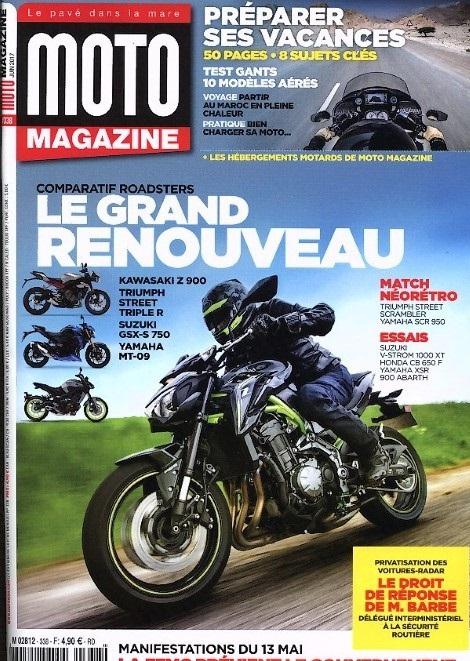 moto magazine n 338 abonnement moto magazine abonnement magazine par. Black Bedroom Furniture Sets. Home Design Ideas