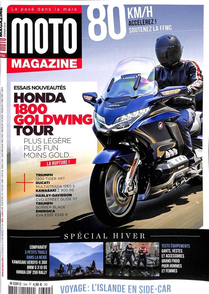 Moto Magazine N° 343 Novembre 2017