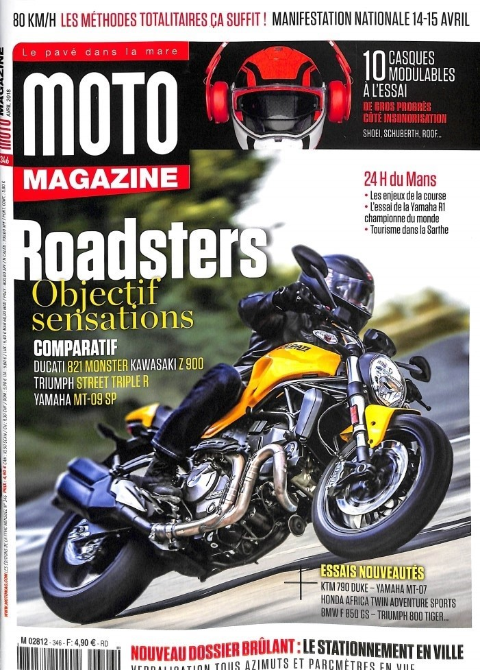 moto magazine n 346 abonnement moto magazine abonnement magazine par. Black Bedroom Furniture Sets. Home Design Ideas