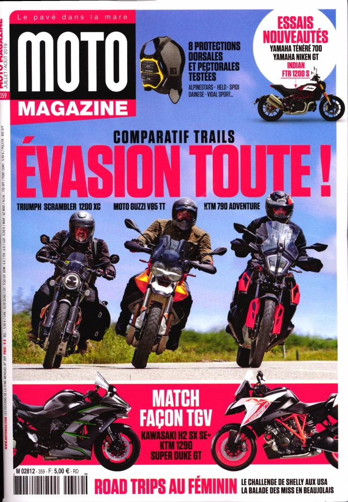 Moto Magazine N° 359 Juin 2019