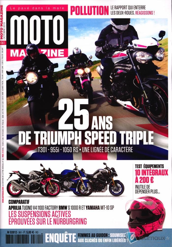 Moto Magazine N° 361 Septembre 2019