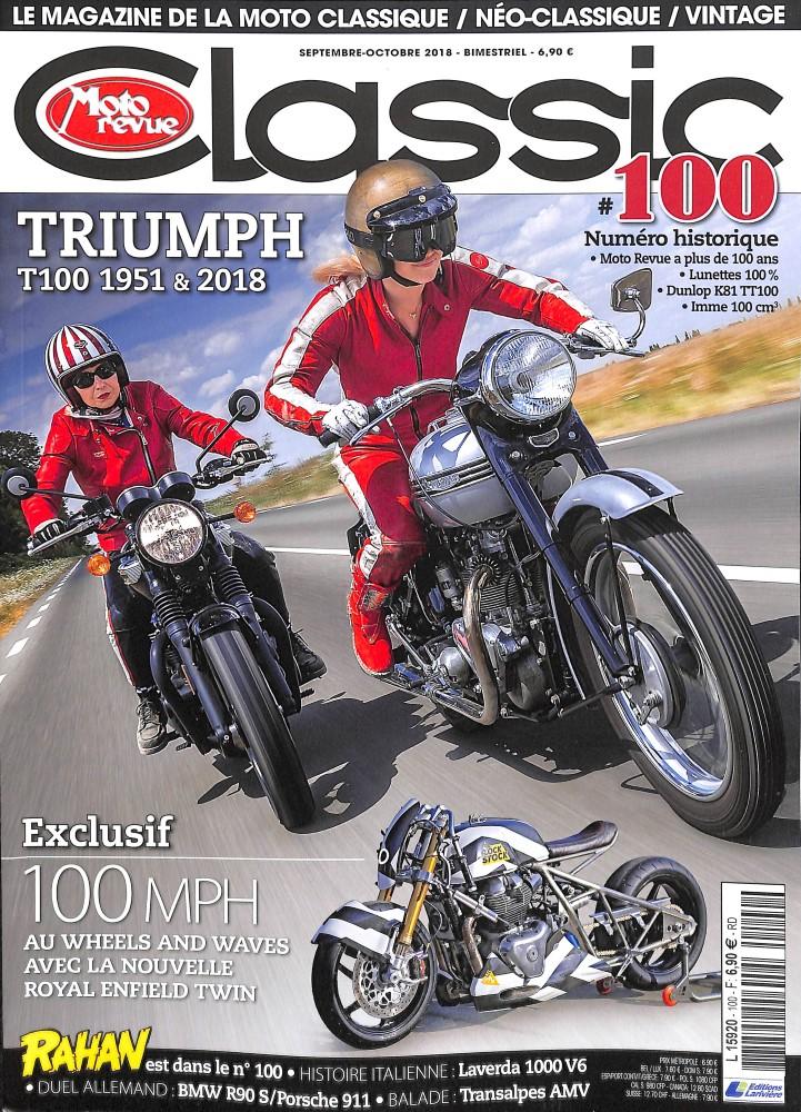 Moto Revue Classic N° 100 August 2018