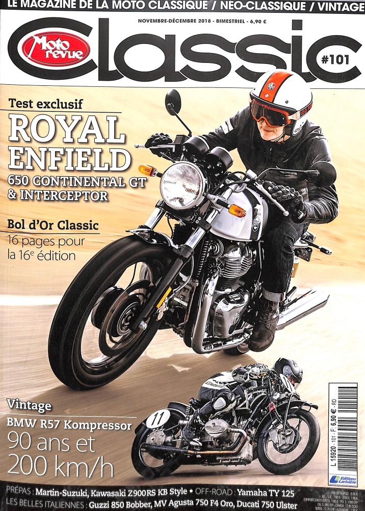 Moto Revue Classic N° 101 October 2018