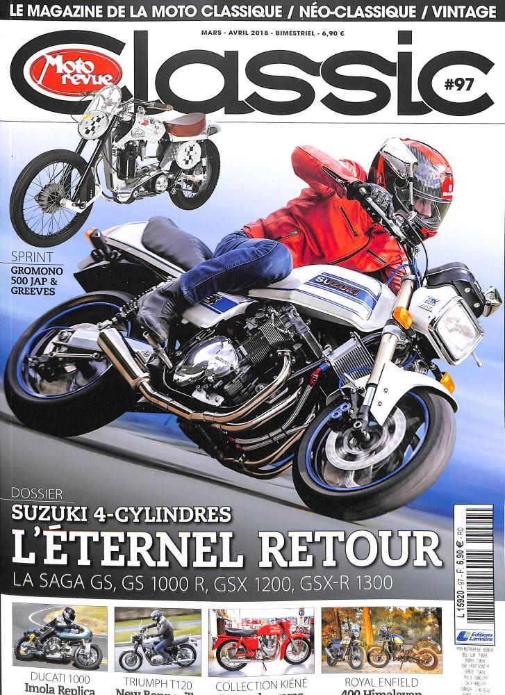 abonnement moto revue classic intermagazines. Black Bedroom Furniture Sets. Home Design Ideas
