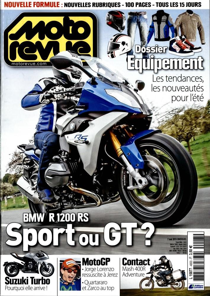 moto revue n 4003 abonnement moto revue abonnement magazine par. Black Bedroom Furniture Sets. Home Design Ideas