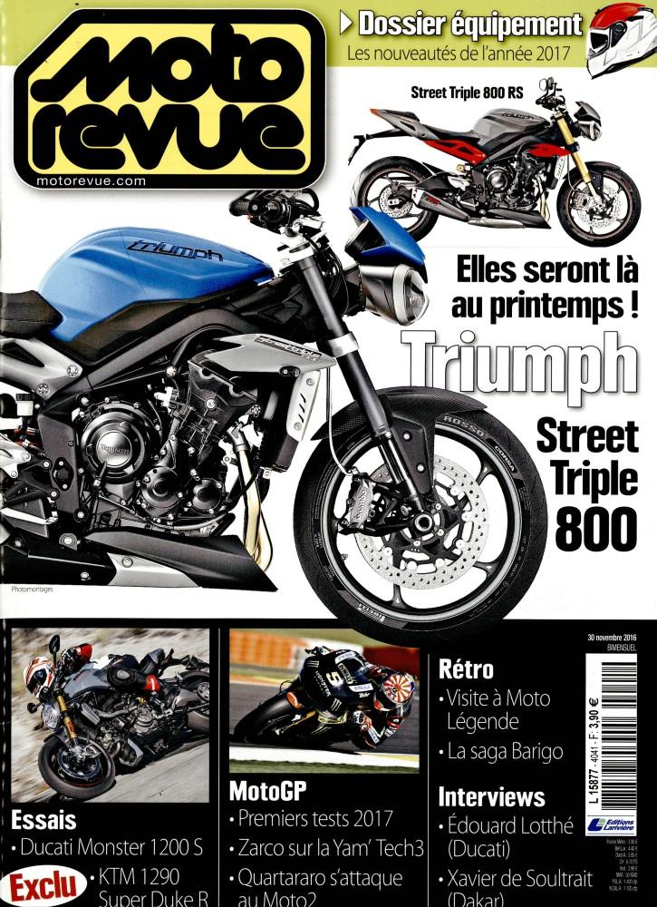 moto revue n 4041 abonnement moto revue abonnement magazine par. Black Bedroom Furniture Sets. Home Design Ideas