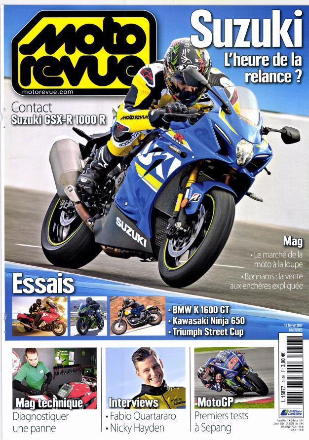 Moto Revue N° 4046 Février 2017