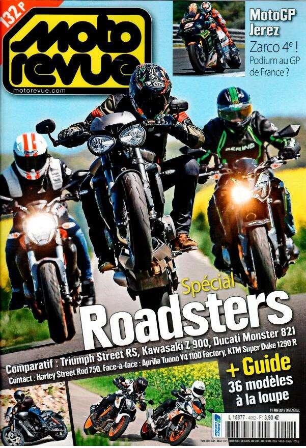 Moto Revue N° 4052 Mai 2017