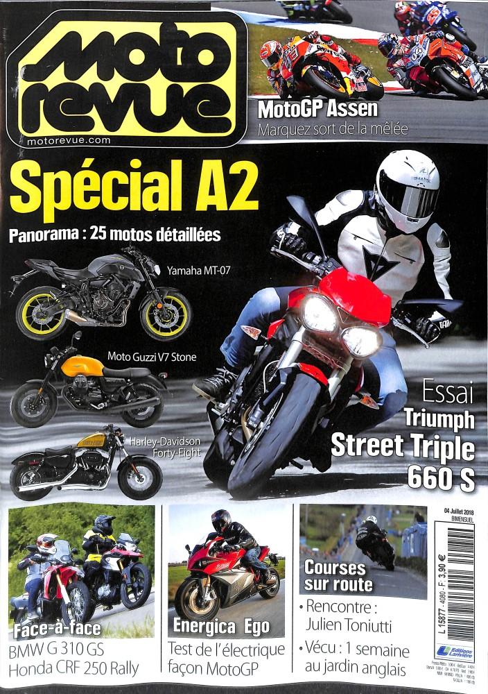 Moto Revue N° 4080 July 2018