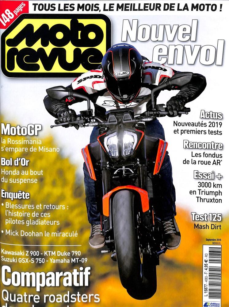 Moto Revue N° 4083 September 2018