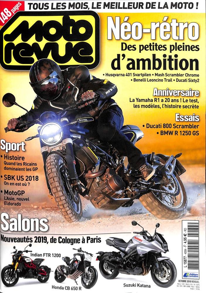 Moto Revue N° 4084 October 2018