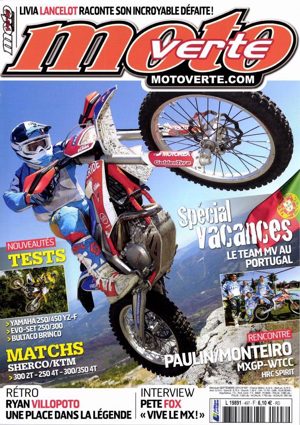 moto verte n 497 abonnement moto verte abonnement magazine par. Black Bedroom Furniture Sets. Home Design Ideas