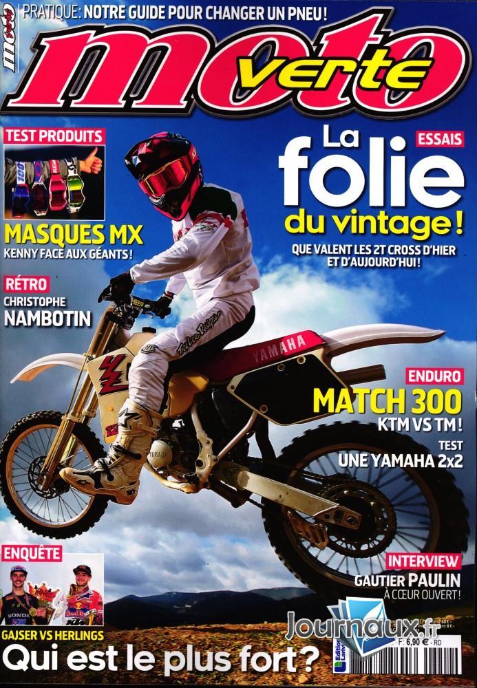Moto verte N° 552 Mars 2020