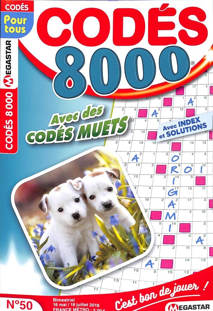 CODES 8 000