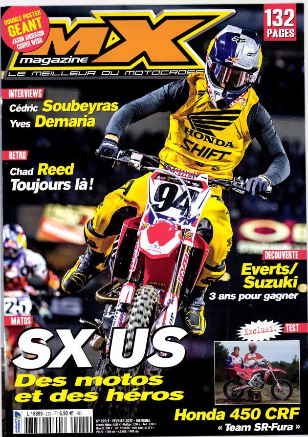 MX Magazine N° 230 Février 2017