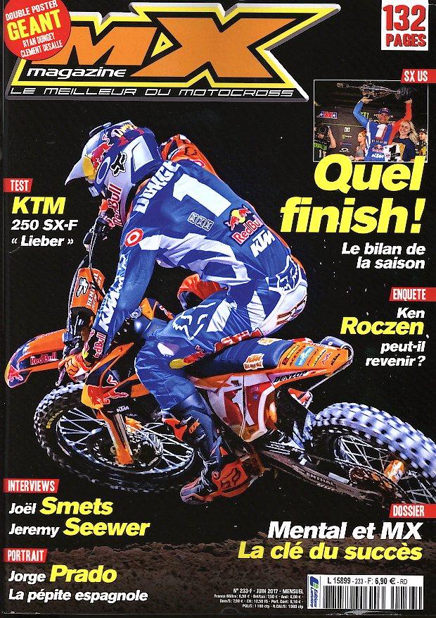 MX Magazine N° 233 Mai 2017