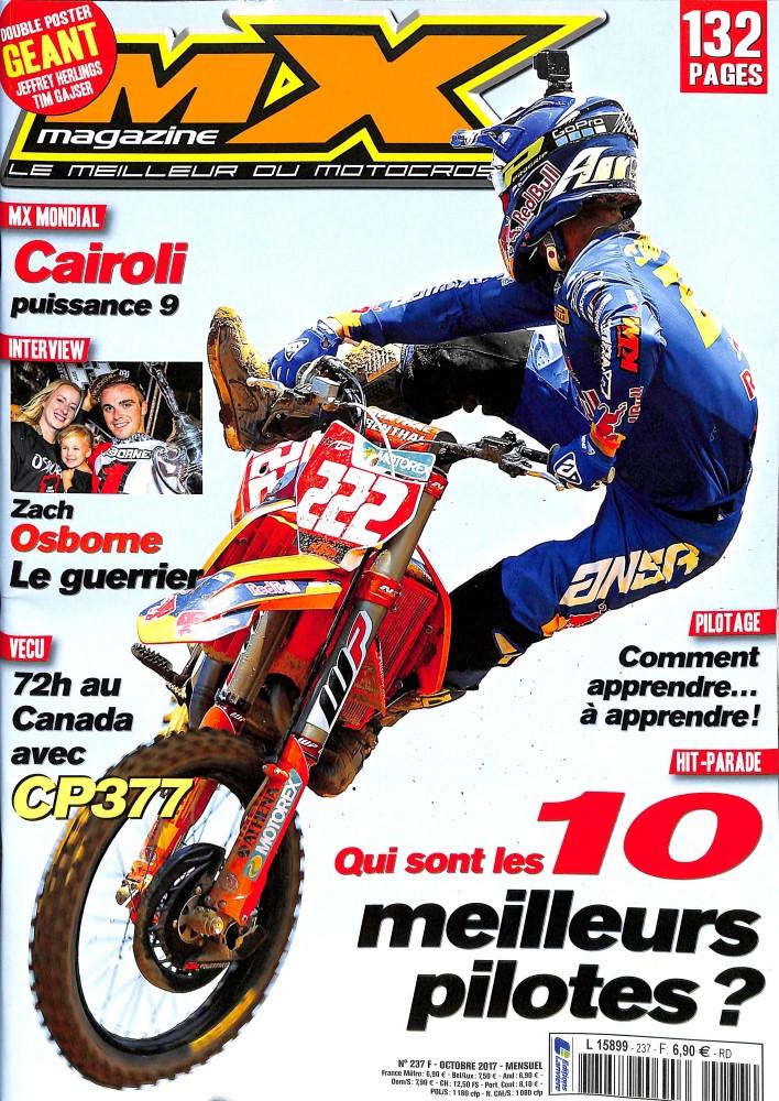 MX Magazine N° 237 Septembre 2017