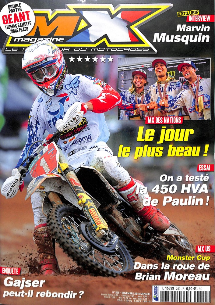 MX Magazine N° 250 October 2018