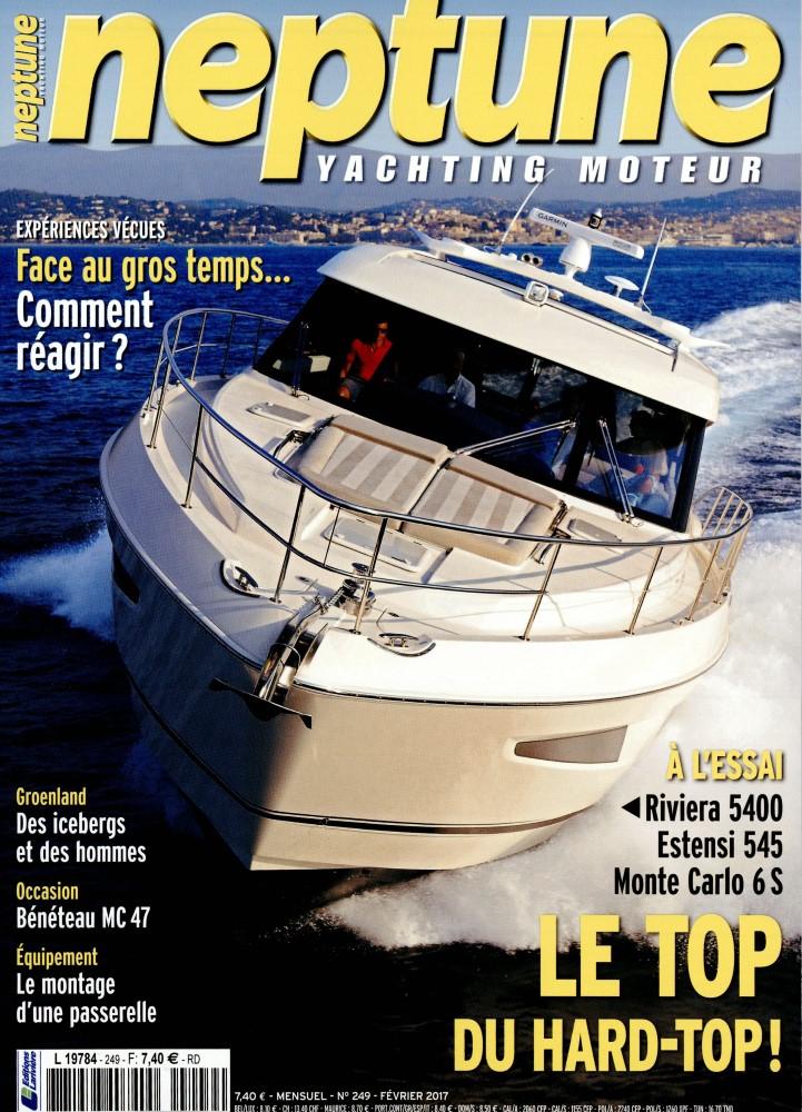 Neptune Yachting Moteur N° 249 Janvier 2017