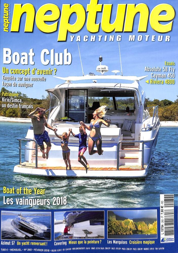 Neptune Yachting Moteur N° 260 January 2018