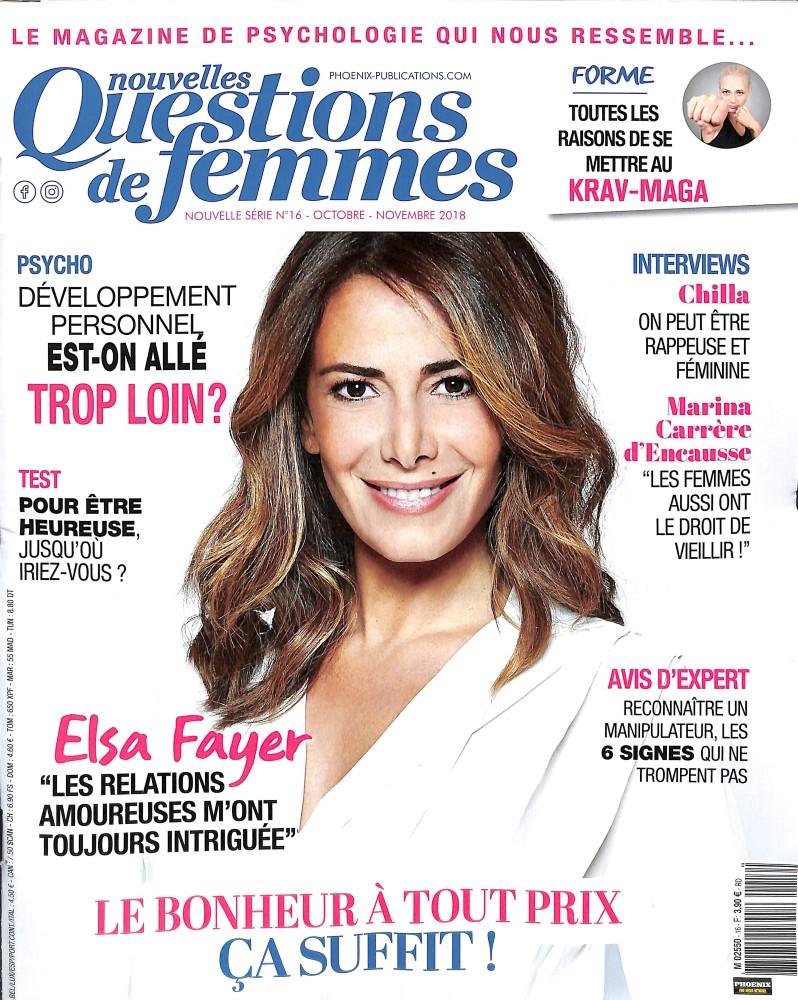 Nouvelles Questions de Femmes N° 16 October 2018