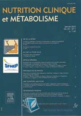 Nutrition clinique et métabolisme