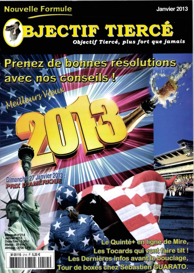 Objectif tiercé N° 300 Février 2020