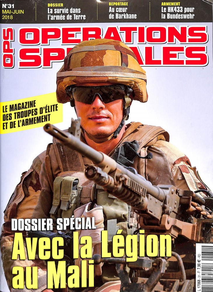 Opérations spéciales N° 31 May 2018
