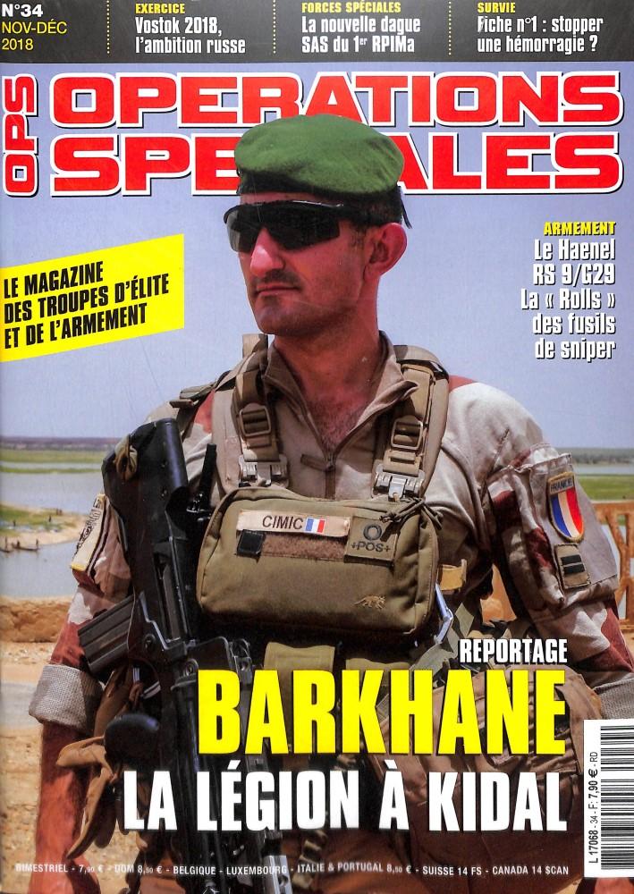 Opérations spéciales N° 34 October 2018