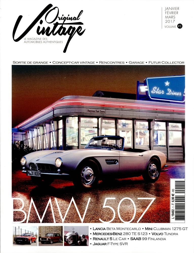 Original vintage N° 1 Décembre 2016