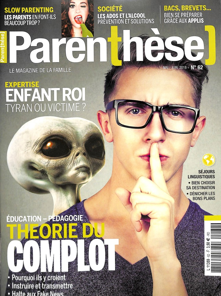 Parenthèse N° 62 April 2018