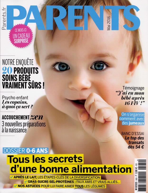 Parents N° 560 Mars 2016