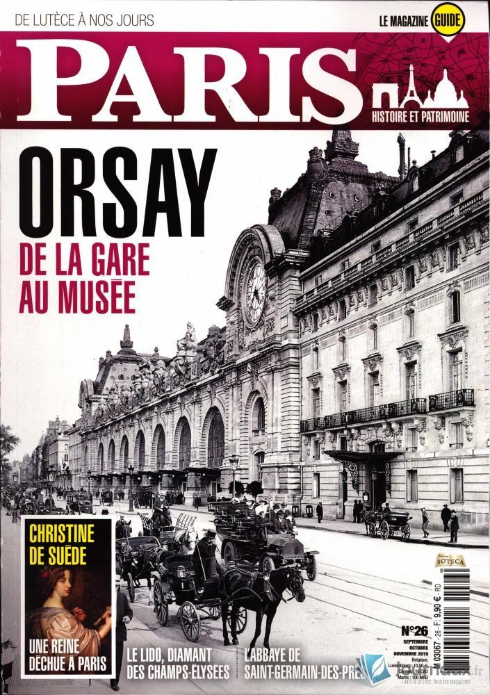 Paris, de Lutèce à nos jours N° 26 Août 2019