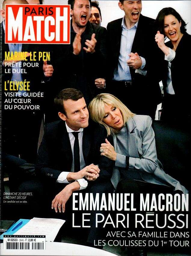 Paris Match N° 3545 Avril 2017