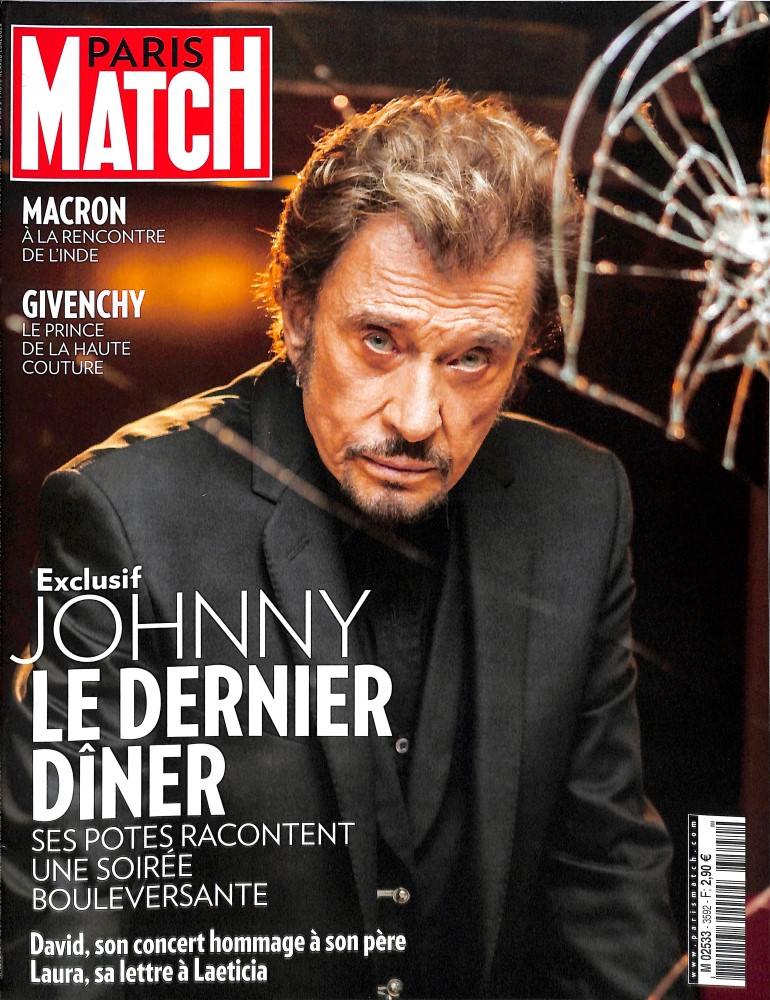 Paris Match N° 3592 March 2018
