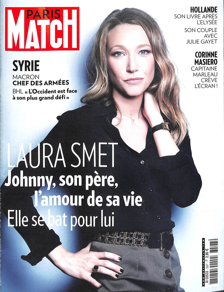 Paris Match N° 3597 April 2018