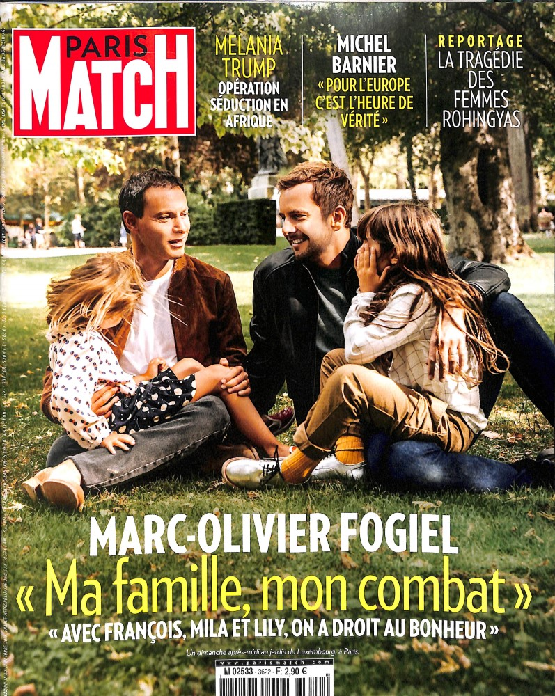 Paris Match N° 3622 October 2018