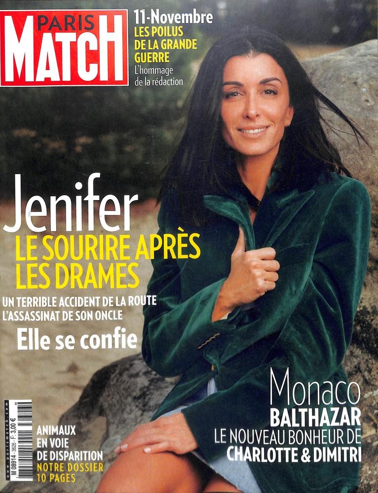 Paris Match N° 3623 October 2018