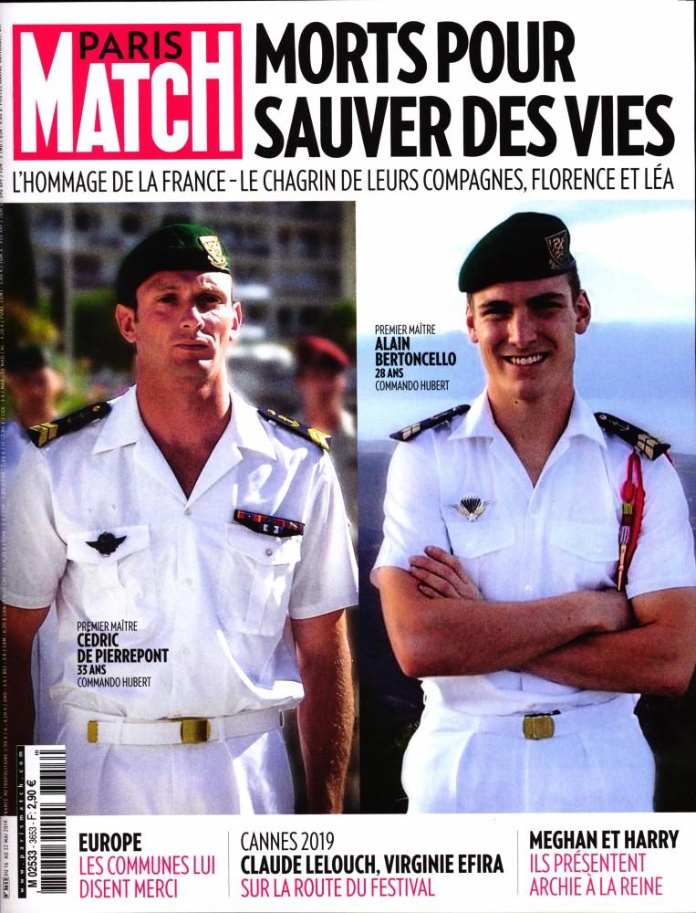 Paris Match N° 3653 Mai 2019