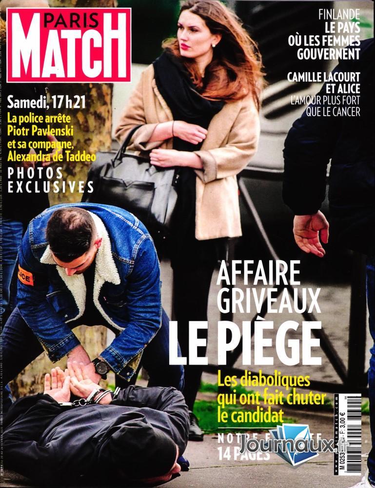 Paris Match N° 3694 Février 2020
