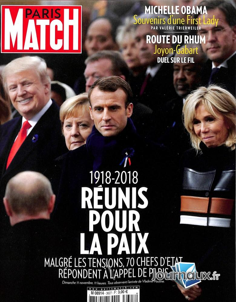 Paris Match N° 3698 Mars 2020