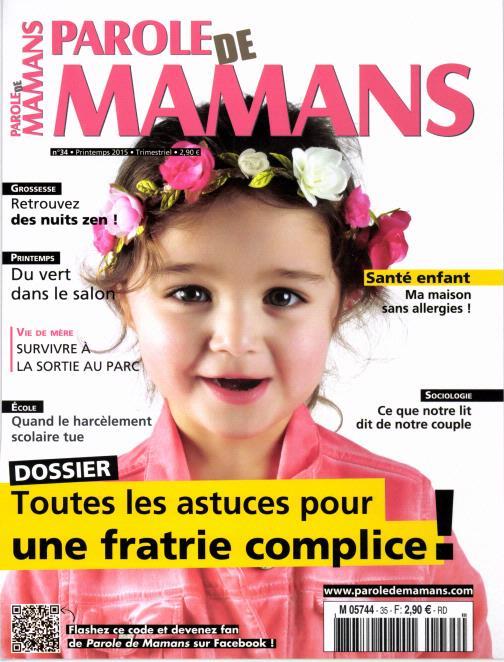 Parole de Mamans N° 40 Janvier 2017