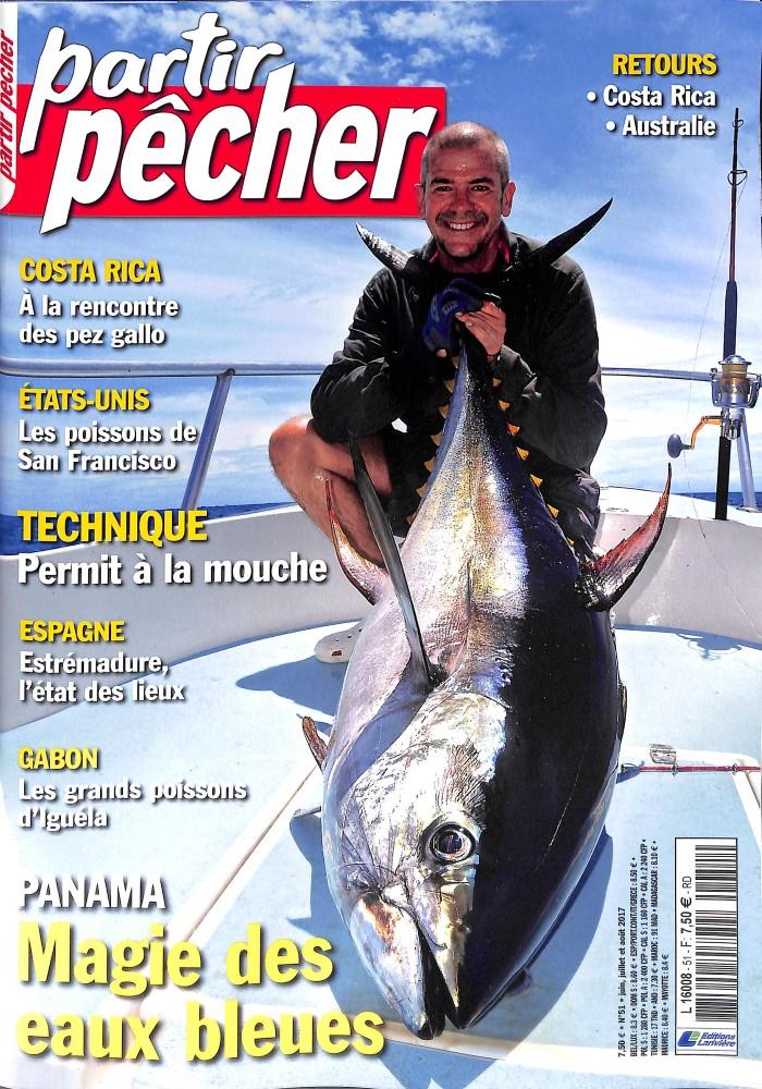 Partir pêcher N° 51 Juin 2017