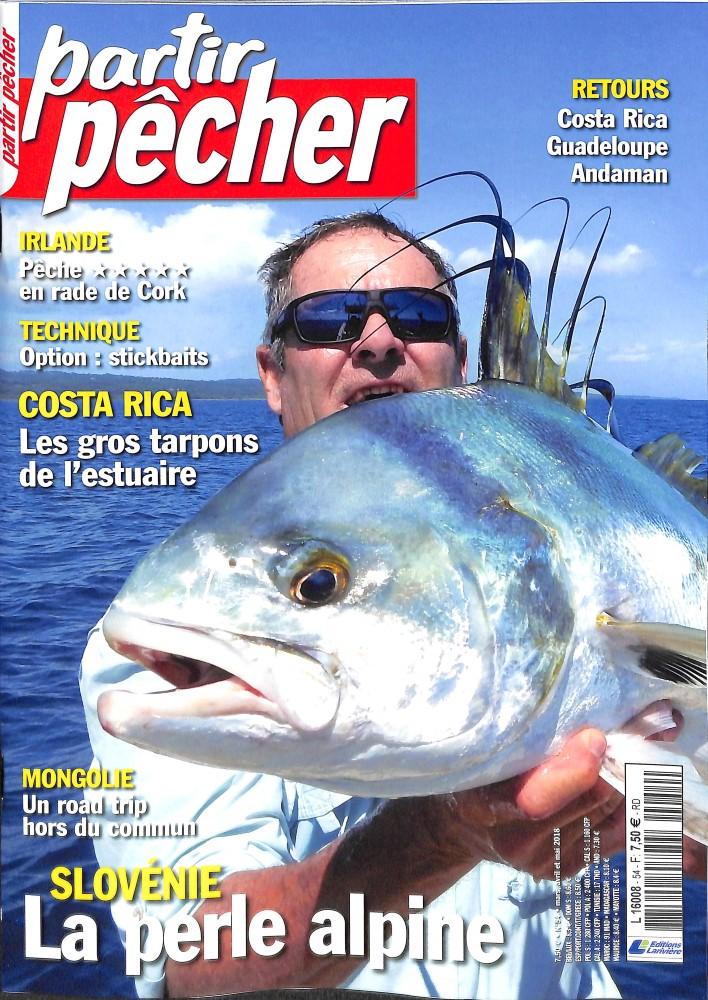 Partir pêcher N° 54 March 2018