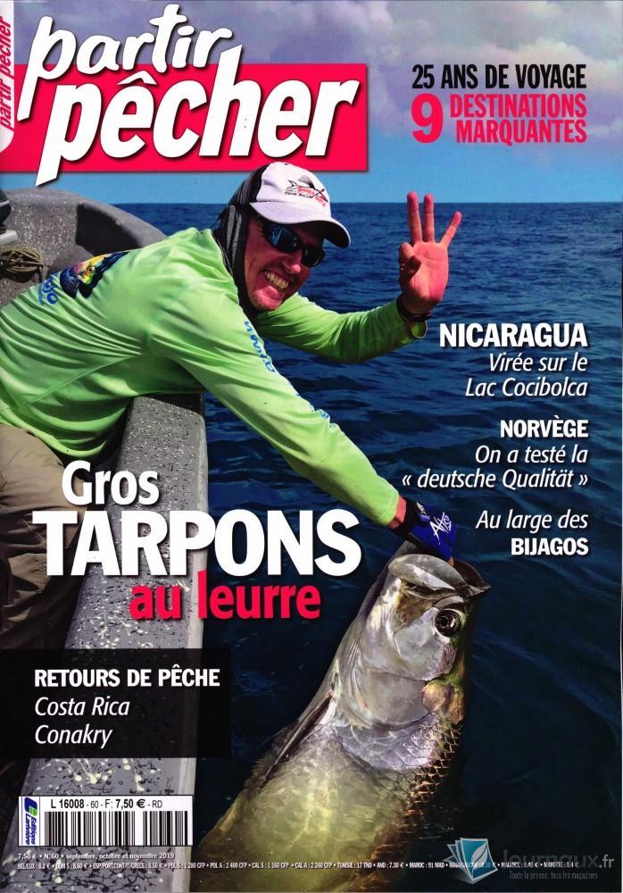 Partir pêcher N° 60 Septembre 2019