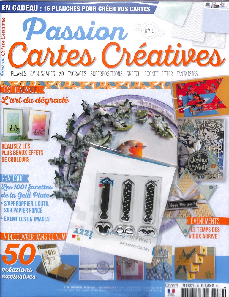 Passion cartes créatives N° 49 October 2018