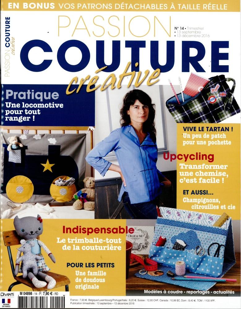 passion couture cr ative n 14 abonnement passion. Black Bedroom Furniture Sets. Home Design Ideas